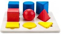 Planet Happy Sorteerbord geometrisch kleur/grootte 3x