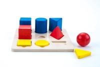 Planet Happy Sorteerbord geometrisch kleur/grootte 3x -2