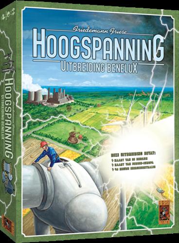 999 Games spel Hoogspanning: Benelux