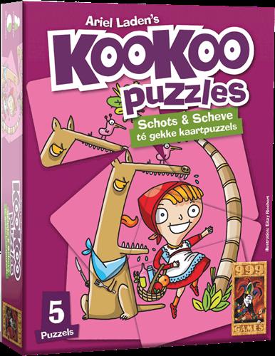 999 Games spel KooKoo Puzzle: Sprookjes