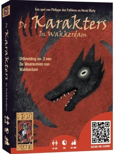 999 Games De Weerwolven van Wakkerdam: Karakters - Kaartspel - 10+