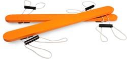 BS Toys buitenspeelgoed houten loopski's