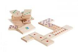 BS Toys Domino (gekleurd)