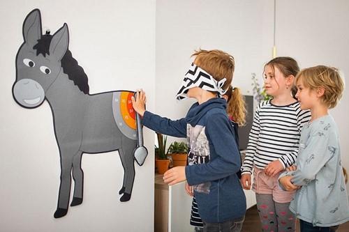 Buitenspeel  kinderspel Donkey-2