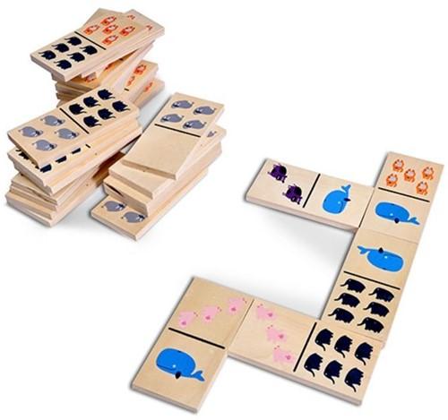 BS Toys Dikke Dieren Domino