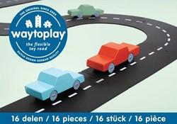Waytoplay startset Autoweg 16-delig