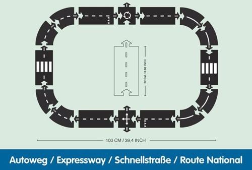 Waytoplay startset Autoweg 16-delig-2