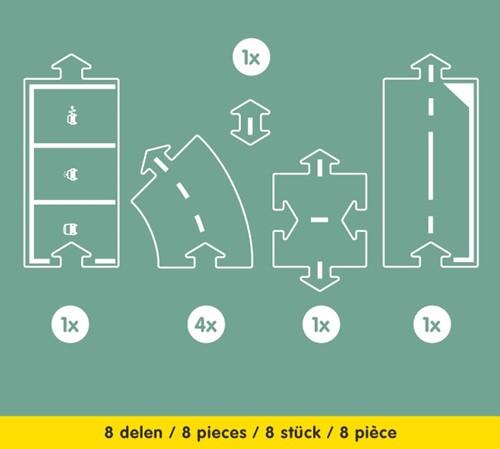 Waytoplay uitbreiding Halfway  - 8 stuks