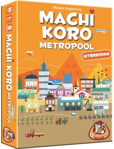 White Goblin Games spel Machi Koro Metropool