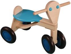 Van Dijk Toys - Loopfiets - Loopfiets berken, lichtblauw