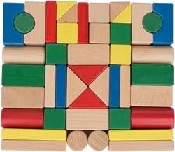 Van Dijk Toys Blokkenset multi kleuren