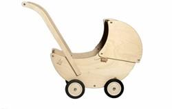 Van Dijk Toys  houten poppenmeubel Poppenwagen blank