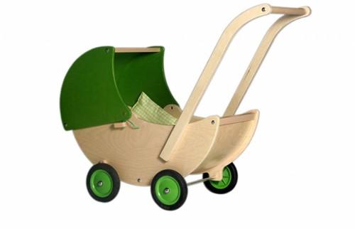 Van Dijk Poppenwagen lime groen
