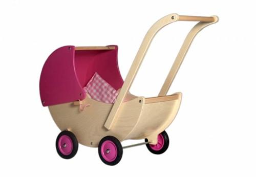 Van Dijk Poppenwagen roze