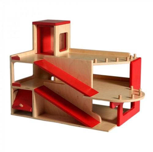 Van Dijk Toys Garage, 2 verdiepingen met lift