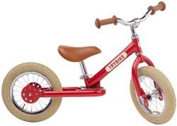 Trybike loopfiets Steel vintage rood - tweewieler