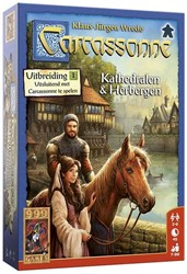 999 Games  bordspel Carcassonne: Kathedralen & Her