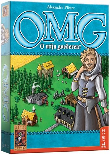 999 Games spel OMG - O mijn goederen!