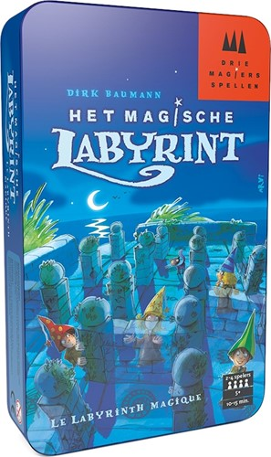 Drie Magiers Spellen Het Magische Labyrint Tin