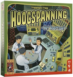 999 Games spel Hoogspanning: Het Kaartspel