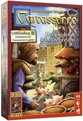 999 Games Carcassonne: Kooplieden & Bouwmeesters