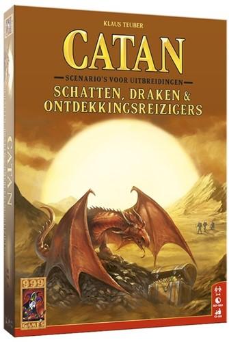 999 Games Catan: Schatten, Draken & Ontdekkingsreizigers - Bordspel - 12+