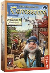 999 Games - Spellen - Carcassonne: Burgemeesters en Abdijen