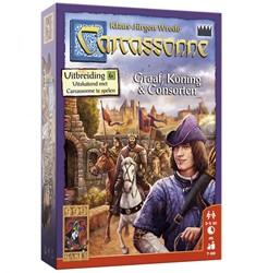 999 Games - Spellen - Carcassonne: Graaf, Koning en Consorten