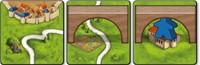 999 Games Bordspel Carcassonne: Bruggen, Burchten en Bazaars-3