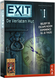 999 games bordspel Exit de verlaten hut