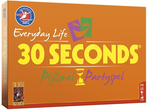 999 Games familiespel 30 Seconds Everyday Life