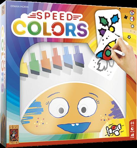 999 games kaartspel Speed Colors