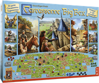999games bordspel Carcassonne Big Box 3-1