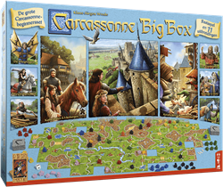 999games bordspel Carcassonne Big Box 3