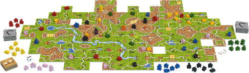 999games bordspel Carcassonne Big Box 3-2
