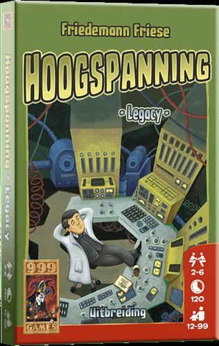 999 Games Hoogspanning: Legacy - Bordspel Uitbreiding