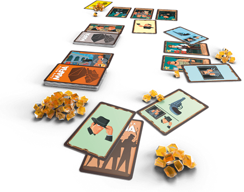 999 Games Capo della Mafia - Kaartspel-2