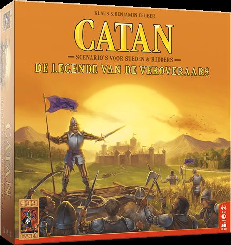 999 Games Catan: De legende van de veroveraars - Bordspel - 12+