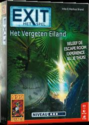 999 games bordspel Exit Het Vergeten Eiland