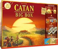 999 Games spel Catan: Big Box Jubileumeditie
