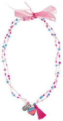 Souza - Sieraden - Necklace Freda, with heart, multicolour