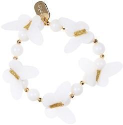 Souza Armband Julieta, creme vlinders (6 stuks)