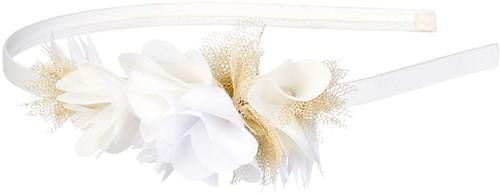 Souza Haarband Julieta, bloemen crème (1 stuk)