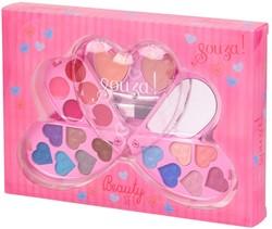 Souza Make-up kit Deise, roze, groot (6 doosjes)