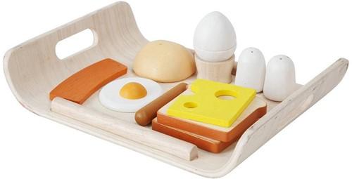 Plan Toys houten ontbijt set