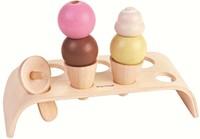 Plan Toys houten keuken accessoire Ice Cream Set