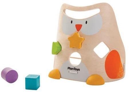 Plan Toys  houten leerspel Owl Sorter