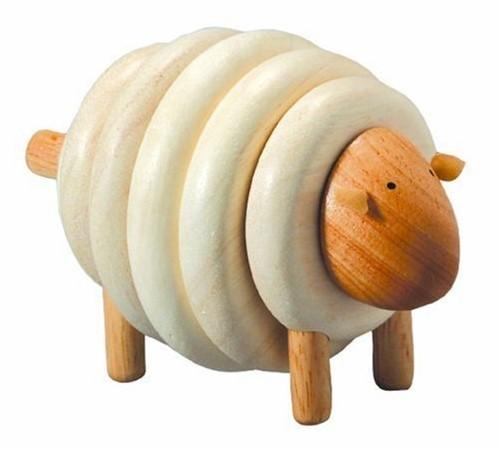 Plan Toys  houten stapelfiguur Stapel schaap