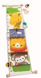 Plan Toys kindermeubel Jungle Height Chart