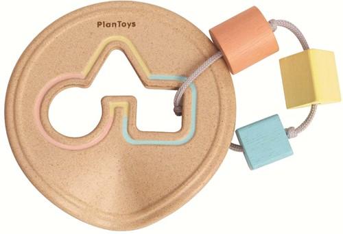 Plan Toys houten pastel Vormen Speeltje